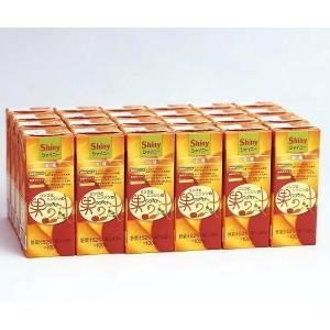 送料込み シャイニーアップルジュース りんごとにんじんの果の汁 200ml紙パック×24個入り|shinyapple