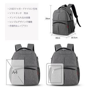 Insularオリジナルデザインのベーシックマザーズバッグです。収納力が抜群でとても実用的な一品です...