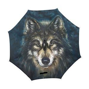 *自動的逆屋外傘× :弊社のデザインは、ユニークな自動的フレーム、Unlike他の多くの手動逆傘です...