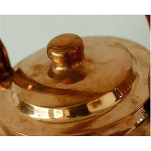 MUZIWENJU 手作り銅製ポット、ファミリー、ダイニングルーム、兼用ケトル、約3.5L、銅製ポッ...