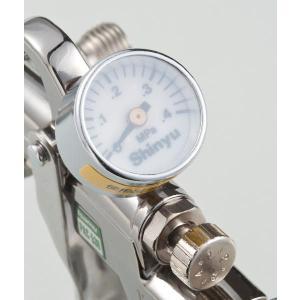 PAC530/オレノ スプレーガン専用圧力計|shinyudirect
