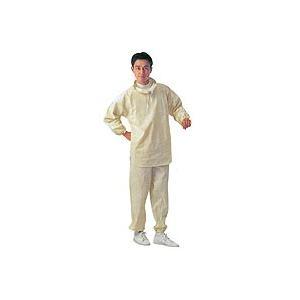 綿100% 建築塗装向け上・下式作業服です。 肌触りの良い帆布製ですので汗を吸い取り、着心地が大変良...
