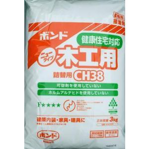 コニシ 木工用ボンド 詰替用 3kg CH-38|shioken
