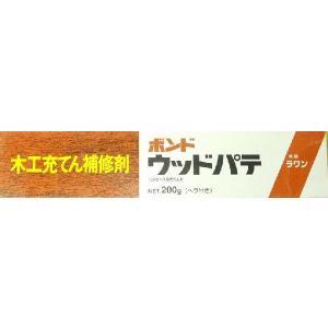 コニシボンド 木材補修用 ウッドパテ 120ml ラワン|shioken