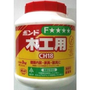 コニシ 木工用ボンド 3kg CH-18|shioken