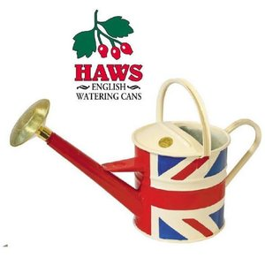 英国[HAWS]木製ハンドルトラディショナルカン 4.5L  ユニオンジャック|shioken