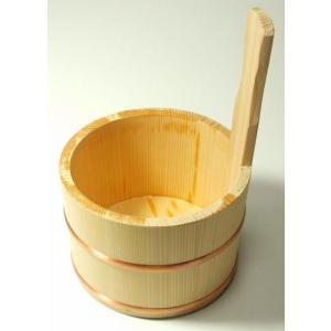 さわら片手桶(風呂桶) shioken