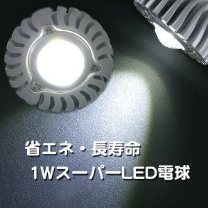 スーパーLED電球アルミレンズ E26 白|shioken