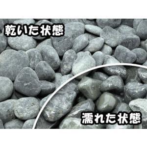 黒玉砂利 18kg|shioken