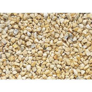 化粧砂利 プレシャスチッピング ディックイエロー(石灰岩) 15kg|shioken