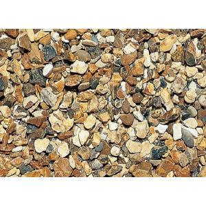 英国化粧砂利 イエローフリント(石英石) 天然石 25kg shioken