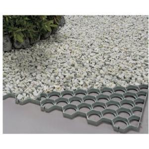 グラベルグリッド 芝生・砂利の保護材 仕切り枠 10枚組|shioken