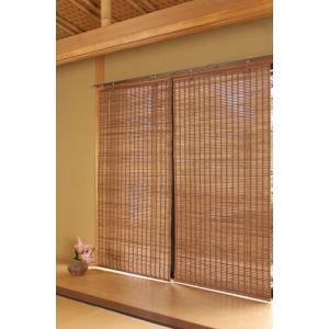 竹のロールスクリーン(1) (S)幅60cm×高さ135cm|shioken