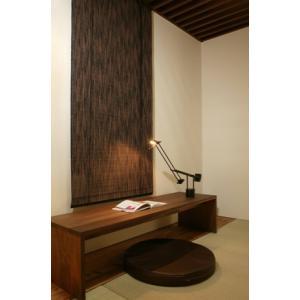 竹のロールスクリーン(4) (L)幅88cm×高さ180cm|shioken