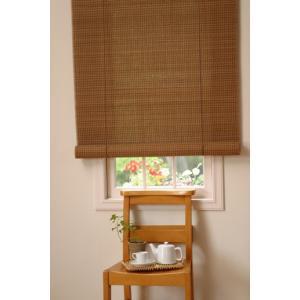竹のロールスクリーン(3) (S)幅60cm×高さ135cm|shioken