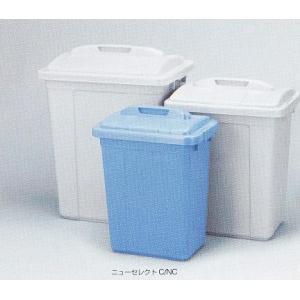 トンボ 角型ペール(フタ付) 95L ブルー|shioken