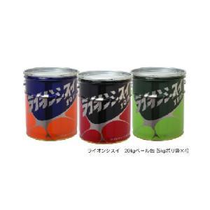 ライオンシスイ 止水剤 20kg缶|shioken