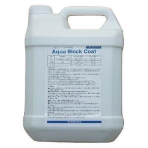 アクアブロックコート 浸透性コンクリート表層保護材 汚れ防止・エフロ抑制 1リットル|shioken