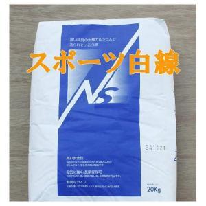スポーツ白線 ラインパウダー 石灰 20kg|shioken