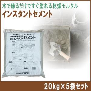 インスタントセメント 20kg×5袋セット shioken