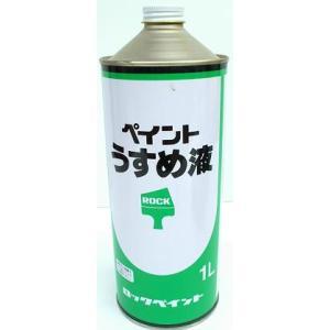 ペイントうすめ液 1リットル shioken