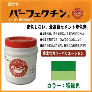 セメント石灰着色剤 パーフェクチン 特緑色 450g|shioken