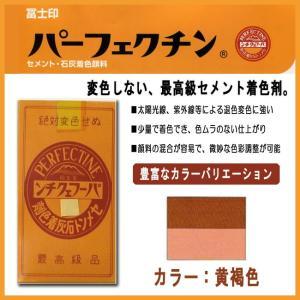 セメント石灰着色剤 パーフェクチン 黄褐色 450g|shioken