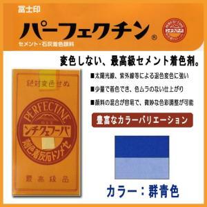 セメント石灰着色剤 パーフェクチン 群青(青色企画1号) 500g|shioken