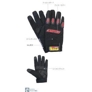 メカニックグローブ HUSOLID H-1手袋 ペンギンエース|shioken