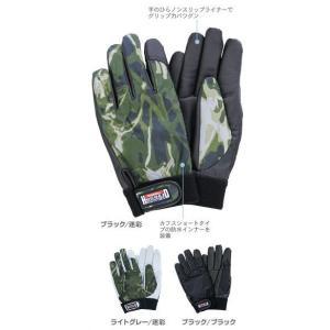 ペンギンエース ノンスリップライナー冬用手袋 HUSOLID WINTER HW-2 shioken
