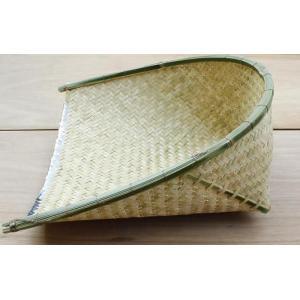 【特注品】竹箕(たけみ) 農業用竹製てみ 特大サイズ|shioken