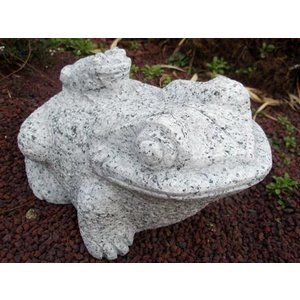 親子蛙25cm 約11kg|shioken