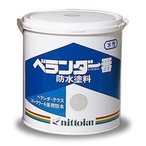 カラー防水塗料 ベランダ一番 4kg缶 shioken