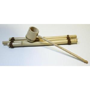 白竹の柄杓(小)つくばいセット|shioken