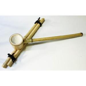 白竹の柄杓(大)つくばいセット|shioken