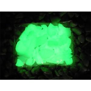 蓄光石 ライトストーン グリーン/ブルー 500g|shioken