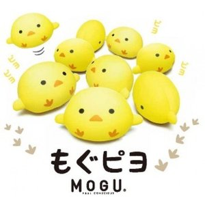 MOGUのひよこ型クッション もぐピヨ|shiotafuton