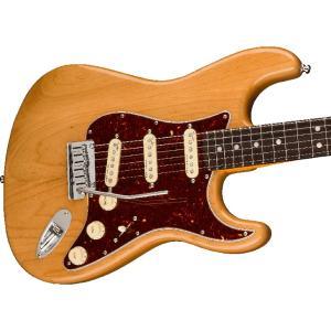 Fender (フェンダー) エレキギター American Ultra Stratocaster カラー:Aged Natural【モールドハードケース付属】 shiraimusic