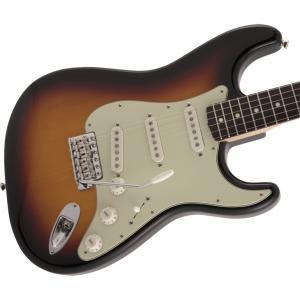 Fender (フェンダー) エレキギター MADE IN JAPAN TRADITIONAL 60S STRATOCASTER カラー:3-Color Sunburst 【ギグバッグ付属】 shiraimusic