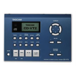 TASCAM(タスカム) ポータブル CD ミュージック & ボイストレーナー CD-VT2|shiraimusic