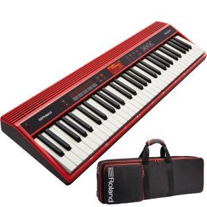 ローランド キーボード 61鍵 Roland GO:KEYS GO-61K + CB-GO61【専用ケースセット】【送料無料】【はじめての鍵盤ワークショップ動画付】|shiraimusic