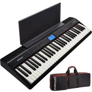ローランド キーボード 61鍵 GO:PIANO Roland GO-61P +CB-GO61【専用ケースセット】【送料無料】【はじめての鍵盤ワークショップ動画付】|shiraimusic