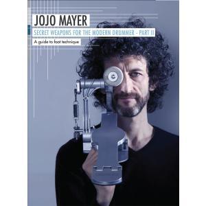 【教則DVD】ジョジョ・メイヤー著 シークレット・ウェポンズ パートIISECRET WEAPONS for the Modern Drummer Part IIby Jojo Mayer(3枚組) shiraimusic