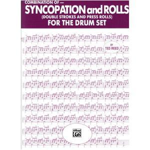 【教則本】シンコペーション&ロール フォー ザ ドラムセット / SYNCOPATION &ROLLS FOR THEDRUMSET shiraimusic