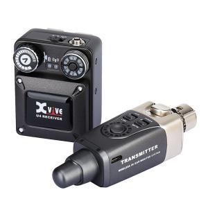 エックスバイブ XV-U4 インイヤーモニター デジタルワイヤレス・システム レシーバー、トランスミッターセット XVIVE|shiraimusic