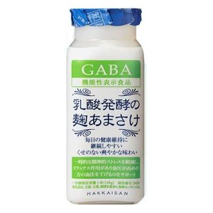 あま酒 八海山 乳酸発酵の麹あまさけ GABA 118g×40本 − 八海醸造