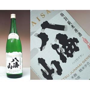 特別純米原酒 八海山 1800ml − 八海醸造