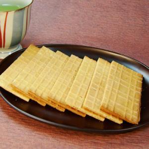 らっかせん 諏訪大社 献上菓子 信州 らっかせん 40枚入り 化粧箱なし 長野 お土産|shirakaba