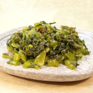 キザミ野沢菜本作り 450g 1袋 野沢菜漬け 醤油漬け|shirakaba