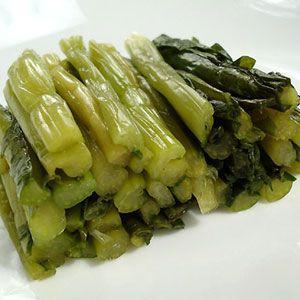 十二代杉ヱ門の野沢菜漬け 浅漬け 300g 5袋|shirakaba